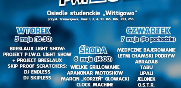 Juwenalia Politechniki Wrocławskiej PROGRAM