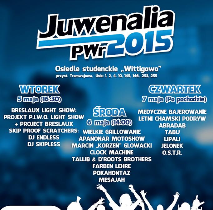 juwenalia pwr 2015 program