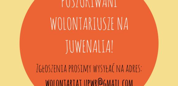 Samorząd Uniwersytetu Przyrodniczego poszukuje wolontariuszy!