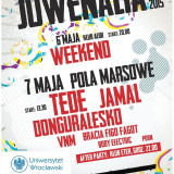 Juwenalia UWr program 2015