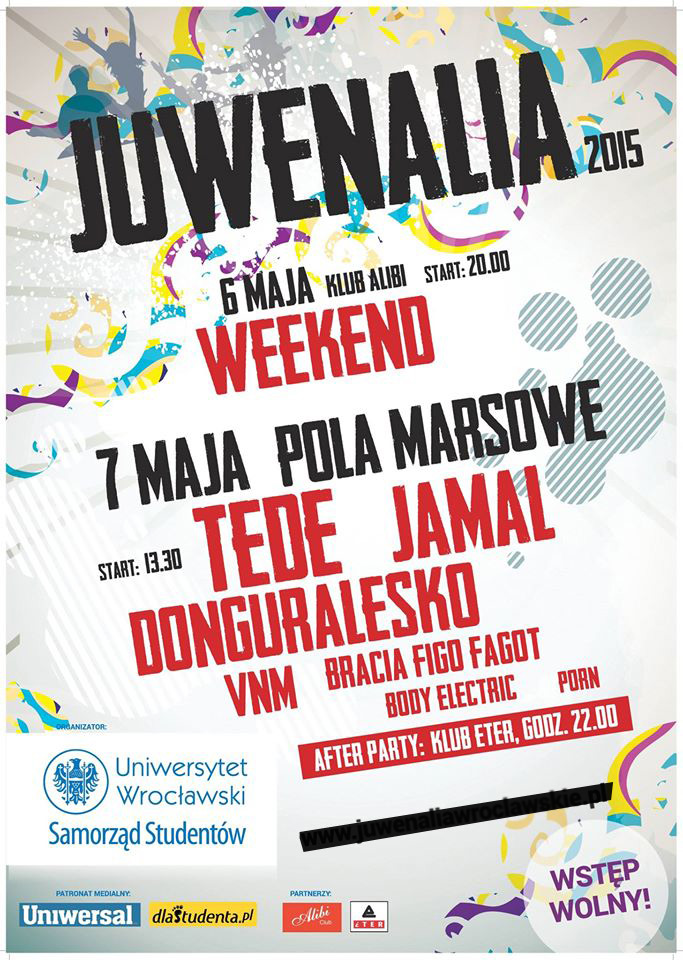 Juwenalia UWr Program